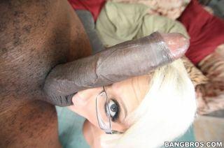 Jacky Joy takes on her biggest black dick ever