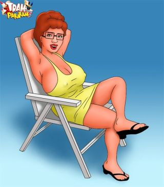Peggy Hill is real MILF. Sexy momma Peggy Hill
