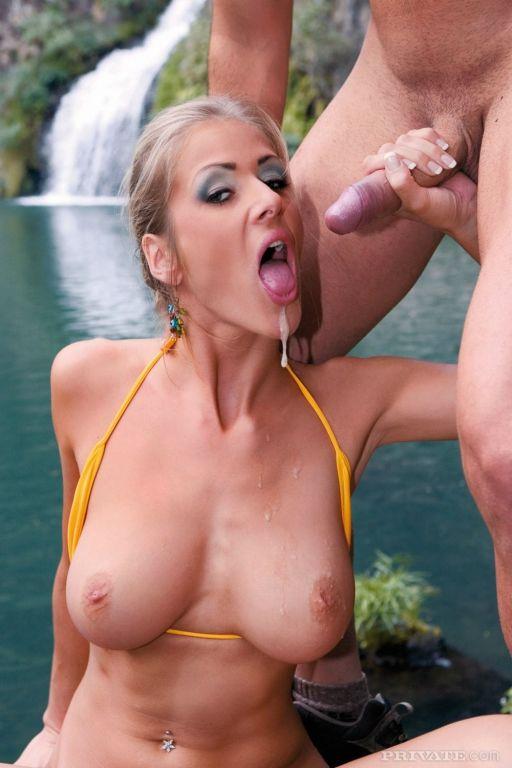 Vusty blonde Jane Darling gets oral ana anal fucke