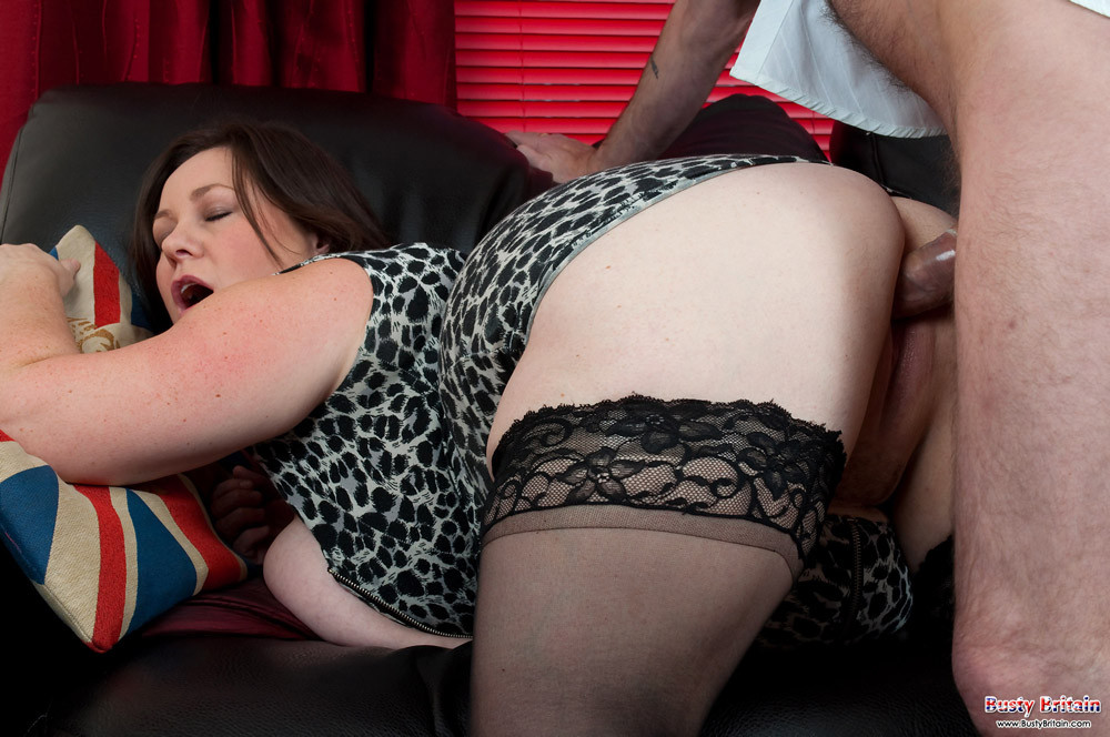 Bisex wife makes husband cum in his ass