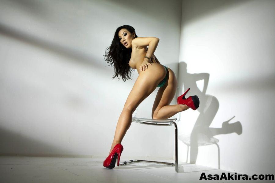 Asa akira in high heels
