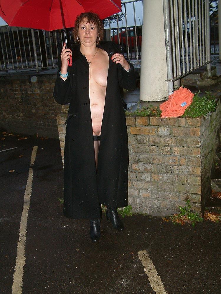 Nude wife public flashing valuable