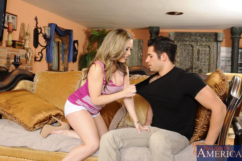 ... naked Carmen Valentina sex piercing ...