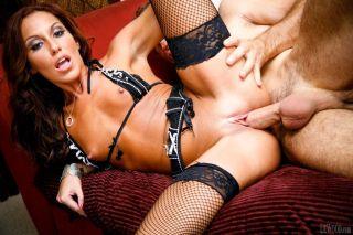 nude Adriana Deville porn blowjob