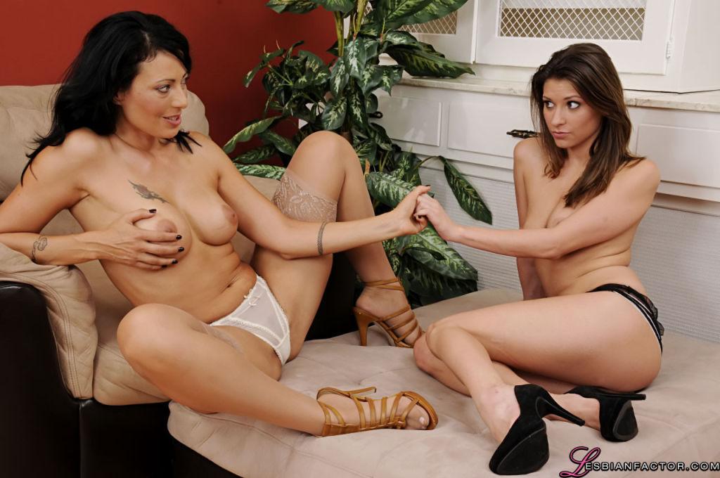 Wild lesbians having fun
