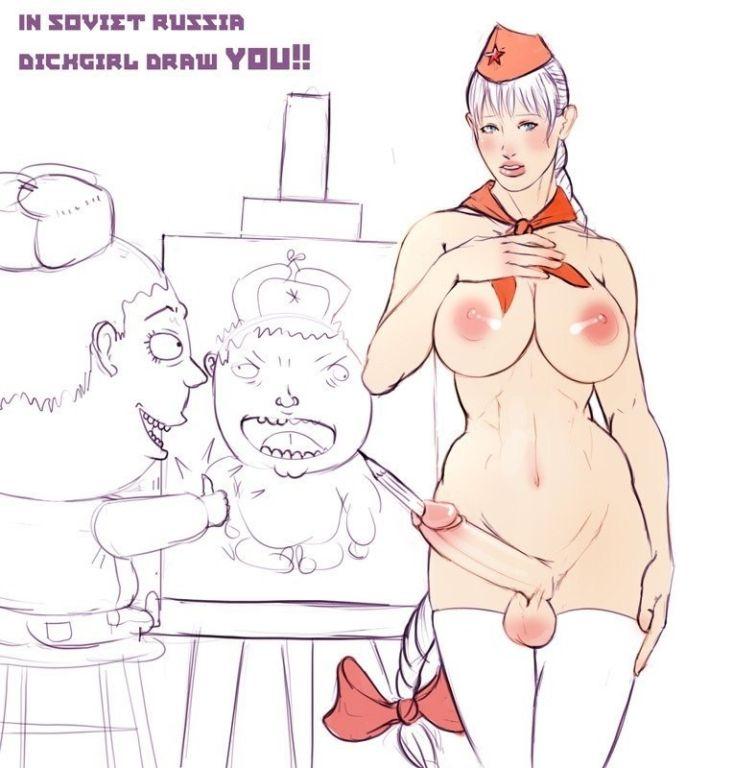 Fetish futa dickgirl sex