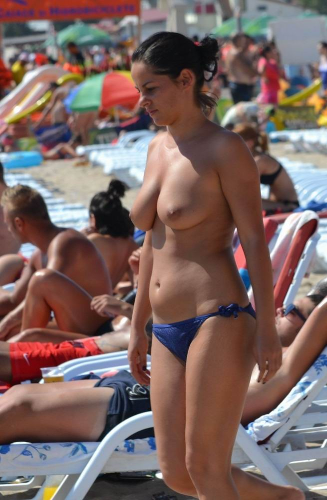 Public nudity wife