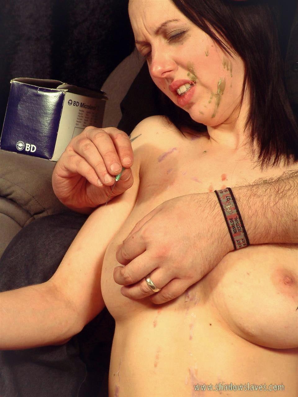 Hardcore nipple torture