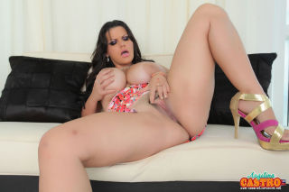 ANGELINA CASTRO IS GETTING READY FOR COCK IN HER S