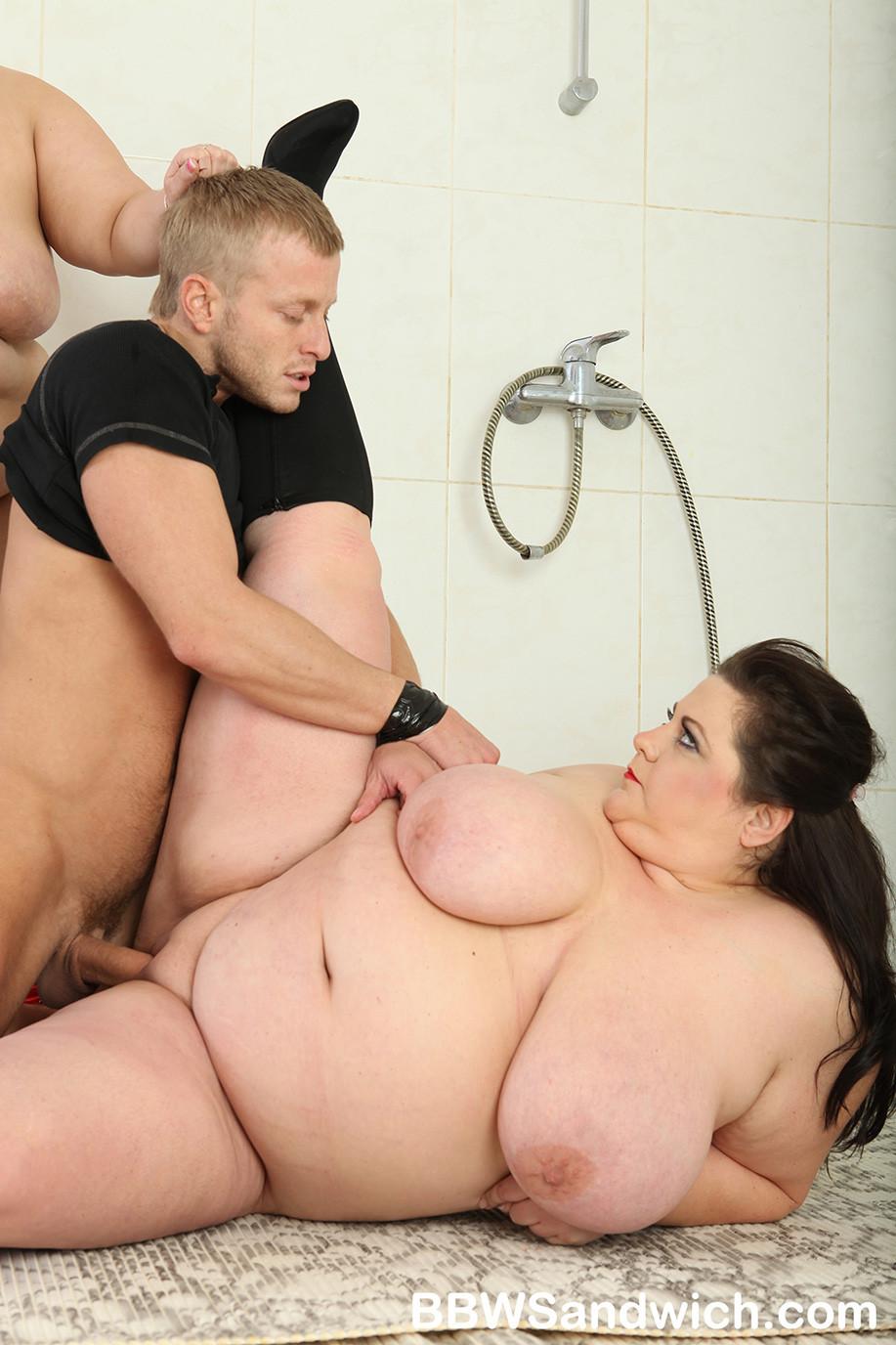 tits Sexy threesome big