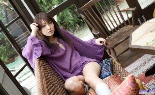 Petite asian Misa Shinozaki shows tits and hot ass