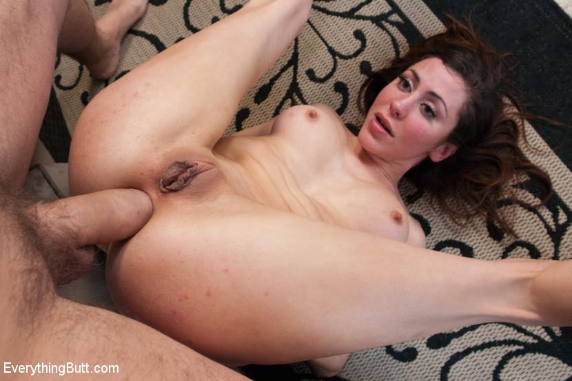 Nude girls holding thongs