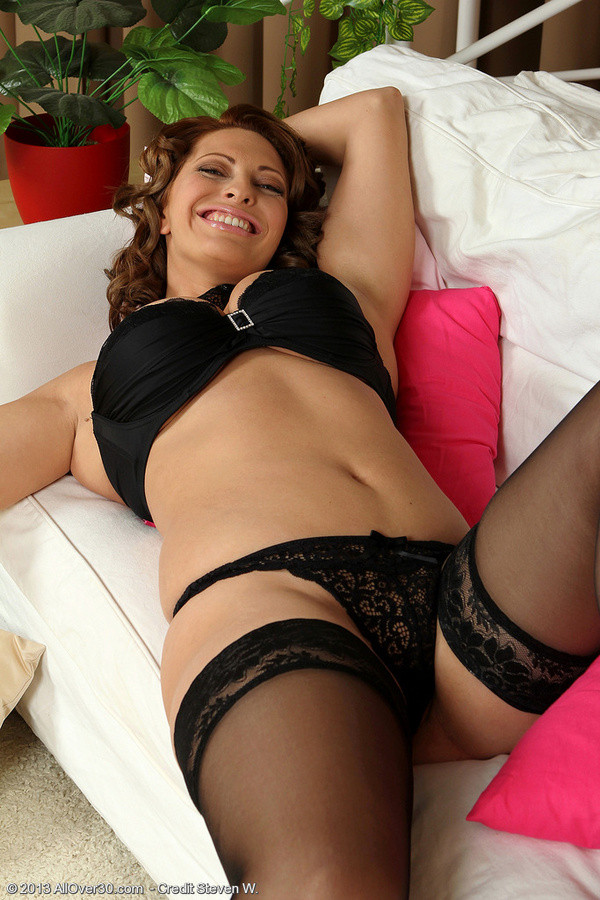 Something on couch a milf lingerie in masturbating sexy down! Something does