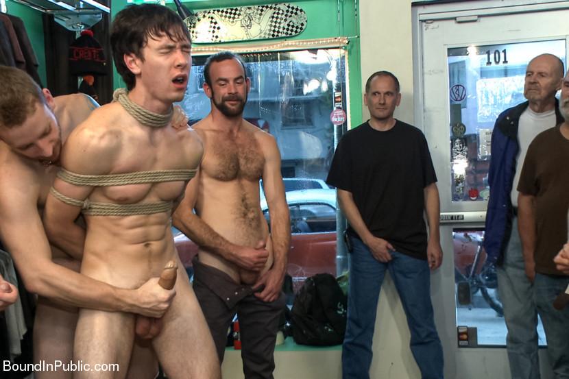 Gay naked men in public
