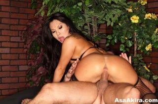 Asa Akira banged in her asian pooper