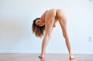 Dancing nude with Meghan