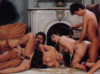 Vintage pornstar Elle Rio fucking in hardcore acti