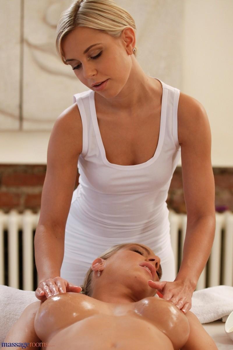 Shy Girl Lesbian Massage