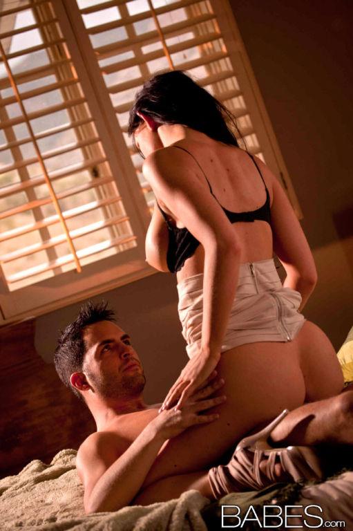 Kendall Karson passionately making love to her hus