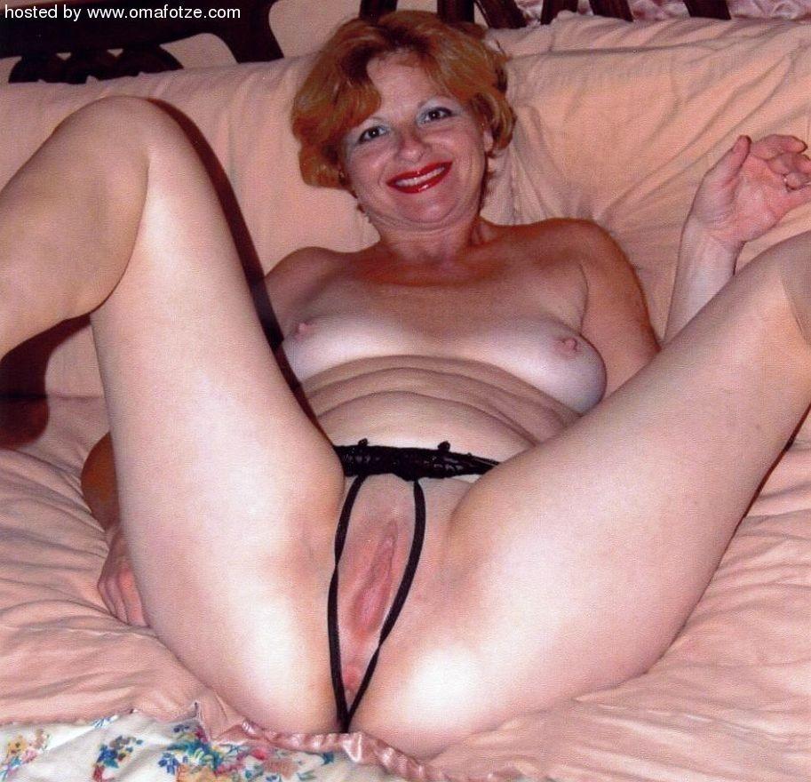 Granny fat tits
