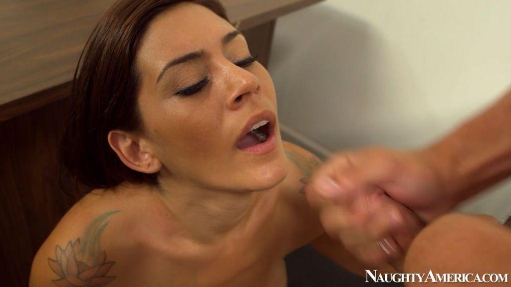Nympho teacher Raylene sedcues a guy
