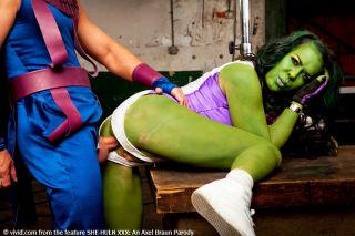 She Hulk XXX Superhero Hardcore Cosplay Porn Parod