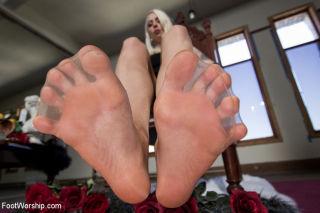 POV foot tease & torment, Solo Foot Masturbati