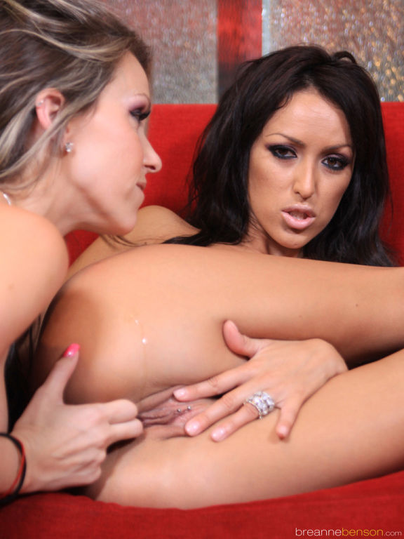 Lesbian fun with Breanne Benson and Courtney Cummz
