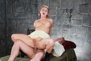 Nurse Krissy Lynn and an insane guy in a scorching