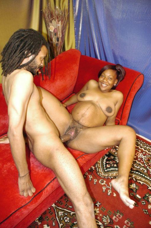 Black pregnant porn