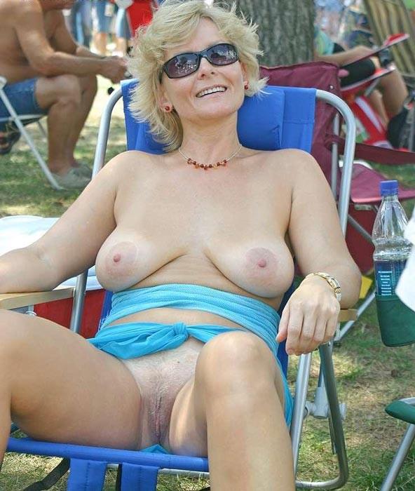 videos Nudist granny
