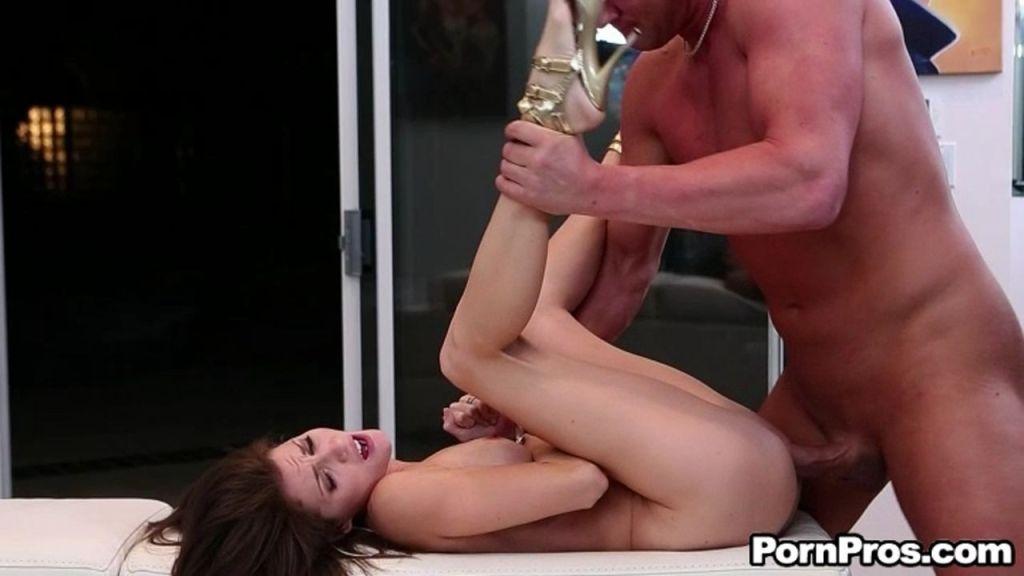 Brunette cutie Jenni Lee fucked hard