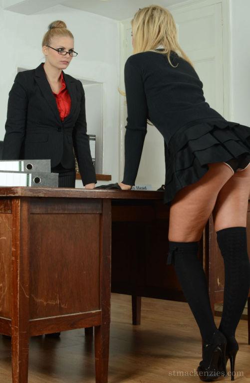 Stephanie has been called to Deputy Headmistress o