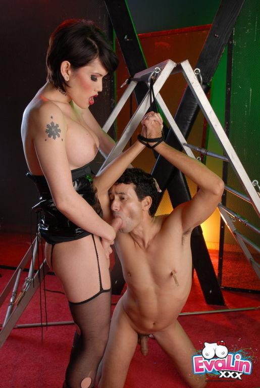 Eva Lin Butt Fucking Her Male Sex Slave