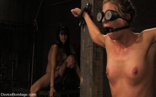 Part 2 of a 3 hour non stop live BDSM show. Isis L
