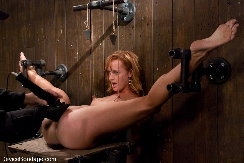 MILLIE: Amateur redhead bondage