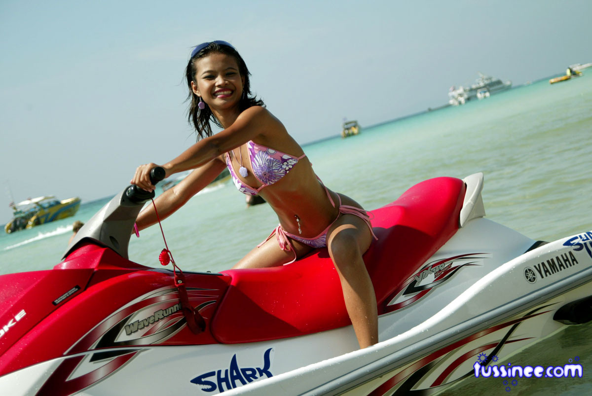 Something is. Sexy naked women on jet ski important and