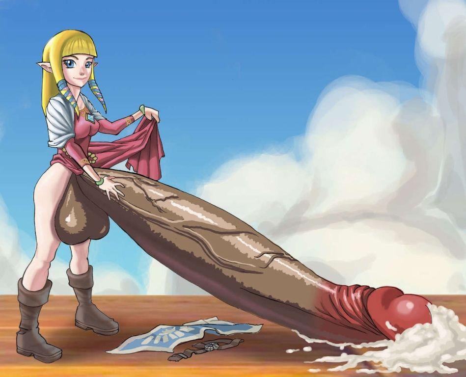 Futanari gaming princesses naked
