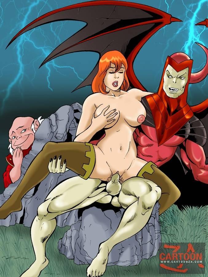 Fantastic four cartoon porn
