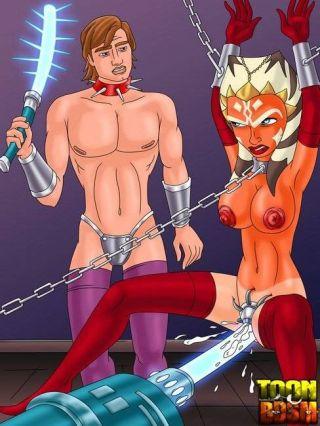 naked -toon bdsm comics