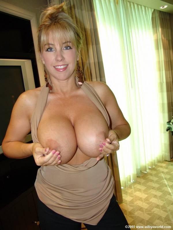 Nice boobs bikini