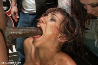 Lexington Steele breaks in his obedient whore Sadi