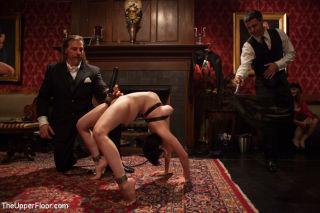 Slaves run amok recklessly eyeballing the dominant
