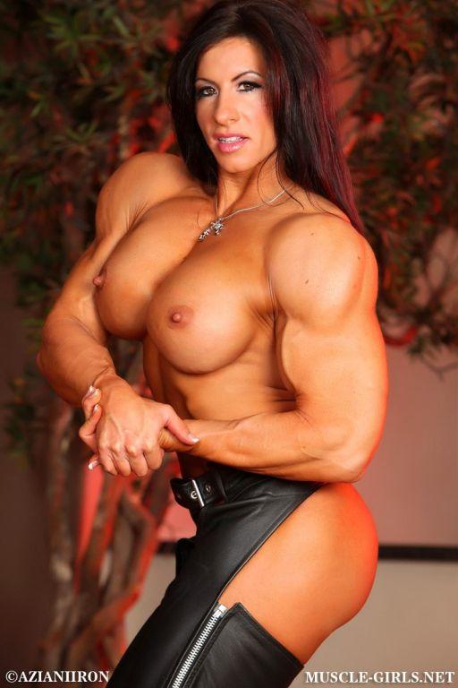 Massive Muscle Goddess Angela Salvagno