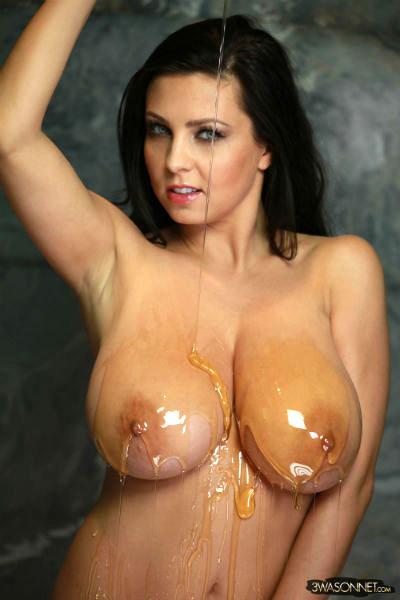 Big natural polish boobs