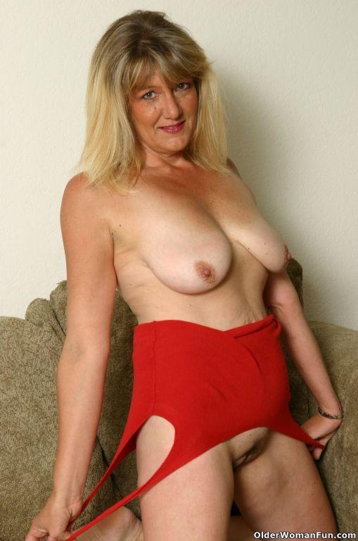 Sexy milf Kylie doing a striptease