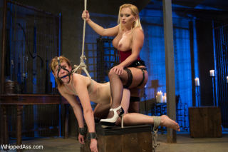 Welcome new domme Katja Kassin to Whipped Ass