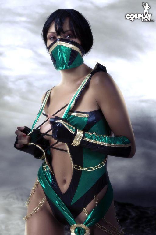 Cosplay Erotica Jade Mortal Kombat nude