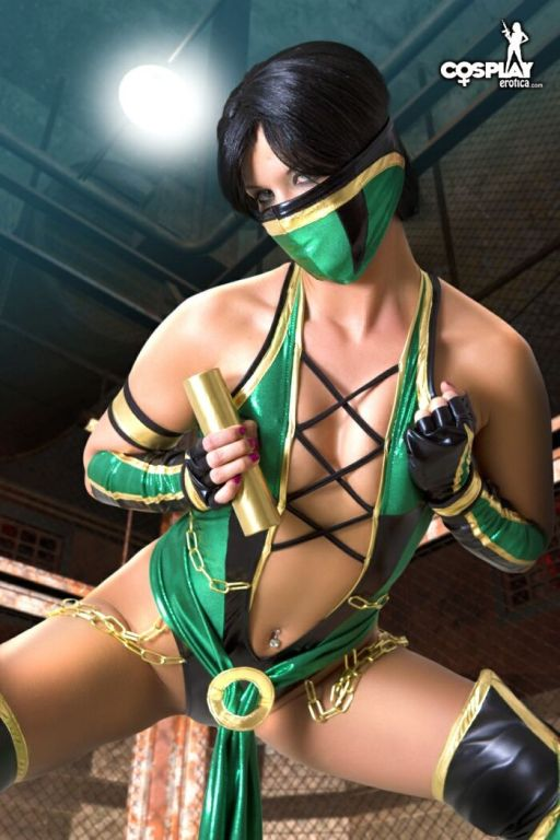 Mortal Kombat Jade Cosplay Erotica Gaming Doll Gin