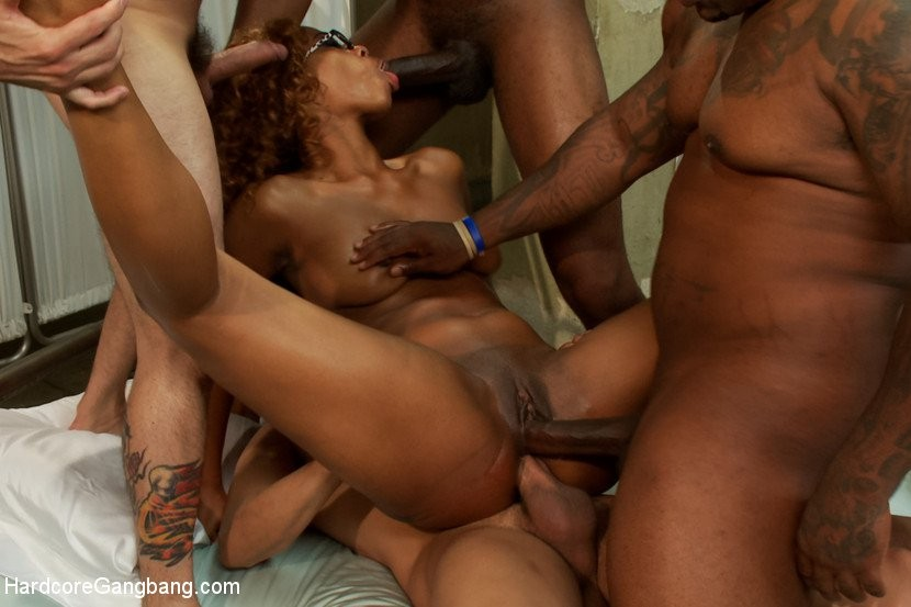 Best of Black Girl Brutal Gangbang